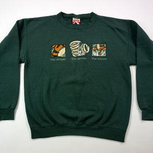 Vintage Winnie The Pooh Tigger Crewneck Sweatshirt
